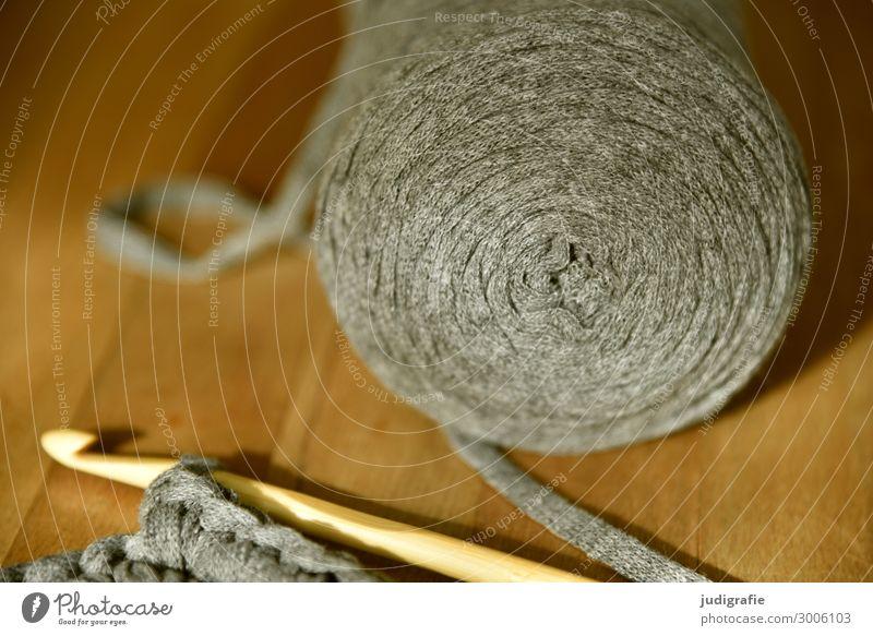 Häkeln Erholung Wärme braun grau Freizeit & Hobby einzigartig Nähgarn Handarbeit Wolle kuschlig stricken häkeln