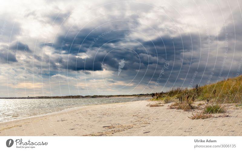 Wolken über der Ostsee harmonisch Wohlgefühl Zufriedenheit Erholung ruhig Meditation Kur Spa Ferien & Urlaub & Reisen Tourismus Ferne Sommer Sommerurlaub Strand