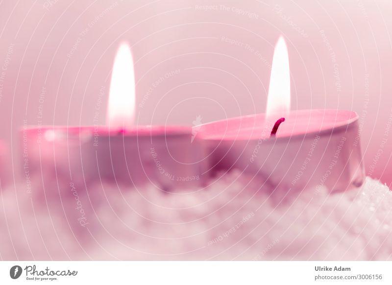 Brennende Teelichte Design Wellness harmonisch Wohlgefühl Zufriedenheit Erholung ruhig Meditation Spa Dekoration & Verzierung Weihnachten & Advent Geburtstag