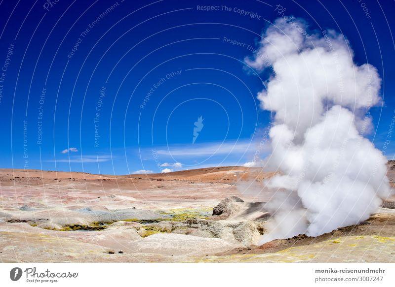 Geysire in Bolivien geysir bolivien altiplano heiß quelle dampf vulkan hochebene berge südamerika