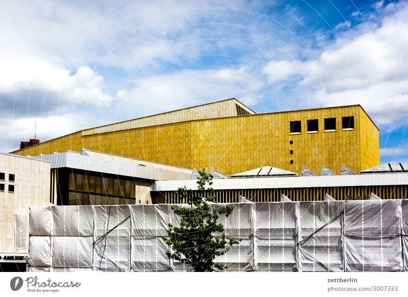 Lateinamerikainstitut Architektur Berlin Kunst Tourismus Textfreiraum Fassade Musik Kultur Baustelle Veranstaltung Konzert Bibliothek Südamerika Abdeckung
