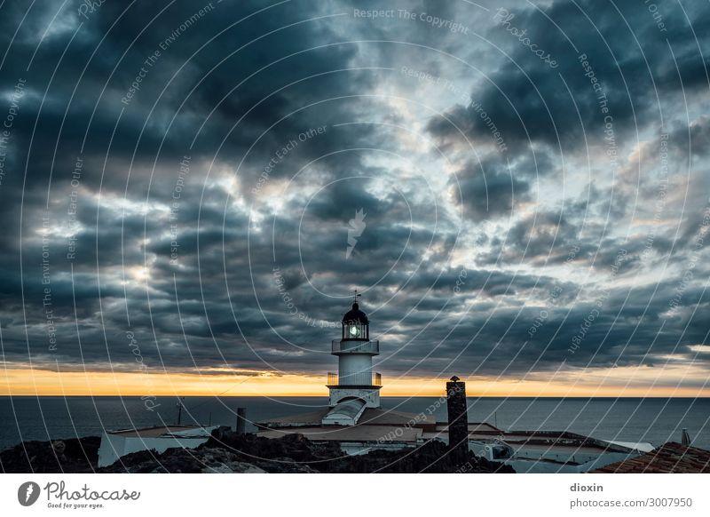Cap de Creus Ferien & Urlaub & Reisen Tourismus Ausflug Abenteuer Ferne Sommerurlaub Umwelt Natur Landschaft Wasser Himmel Wolken Sonnenaufgang Sonnenuntergang