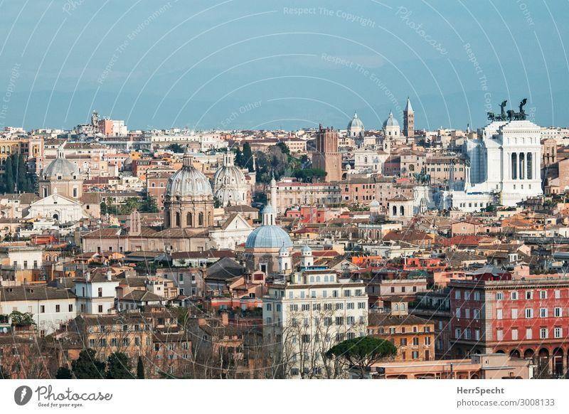 la cittá eterna - bella vista / Blick von einem der 7 Hügel Ferien & Urlaub & Reisen Tourismus Ausflug Sightseeing Städtereise Rom Hauptstadt Altstadt Skyline