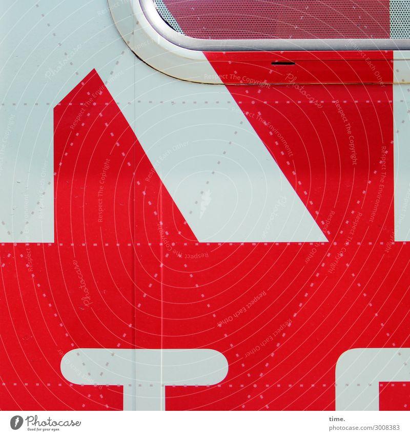 Materialmix Verkehr Autofahren Wohnmobil durchsichtig Dekoration & Verzierung Naht Metall Kunststoff Zeichen Schriftzeichen Schilder & Markierungen Linie