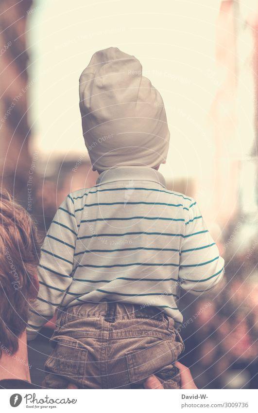 neugierig elegant Leben Ferien & Urlaub & Reisen Mensch maskulin Kind Kleinkind Junger Mann Jugendliche Erwachsene Eltern Vater Familie & Verwandtschaft