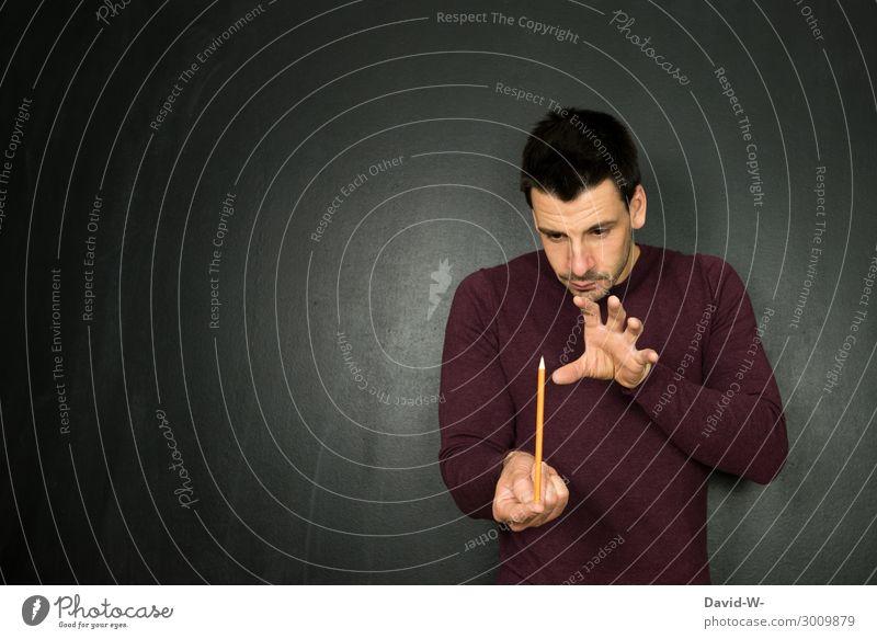 balance Mensch Jugendliche Mann Junger Mann Hand ruhig Freude Gesicht Erwachsene Leben Business Kunst Schule maskulin Erfolg lernen