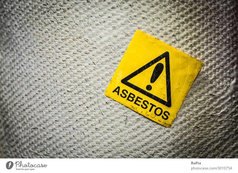 Rohrleitungsisolierung mit Asbest. Gesundheit Gesundheitswesen Tourismus Ausflug Abenteuer Sightseeing Städtereise Arbeit & Erwerbstätigkeit Arbeitsplatz