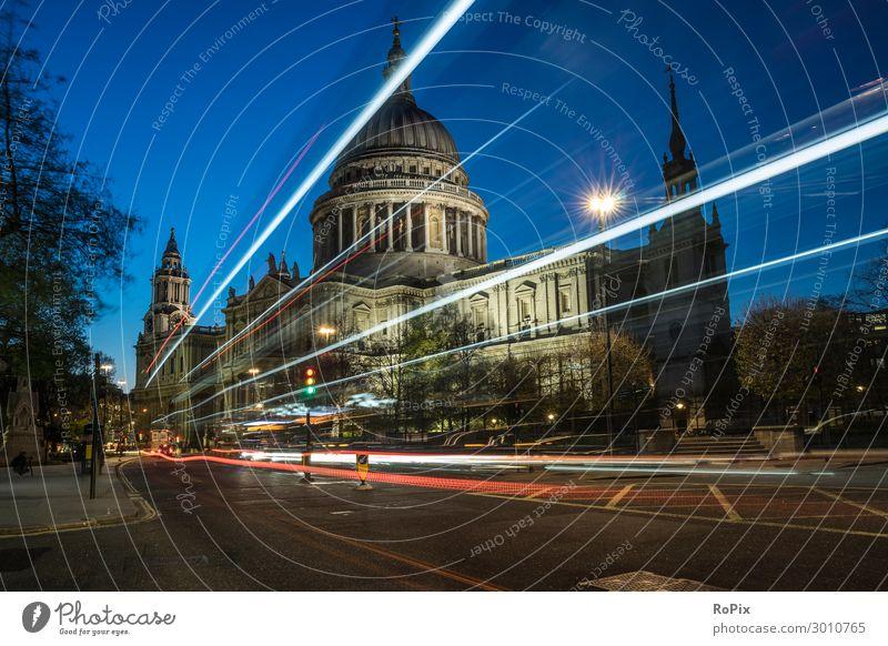 St. Pauls Cathedral of London. Lifestyle Stil Ferien & Urlaub & Reisen Tourismus Ferne Sightseeing Städtereise Wirtschaft Kunst Kunstwerk Architektur Umwelt
