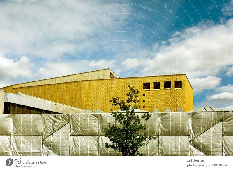 Kulturforum Architektur Berlin Kunst Tourismus Textfreiraum Fassade Musik Baustelle Veranstaltung Konzert Bibliothek Abdeckung Bauhaus Berliner Philharmonie