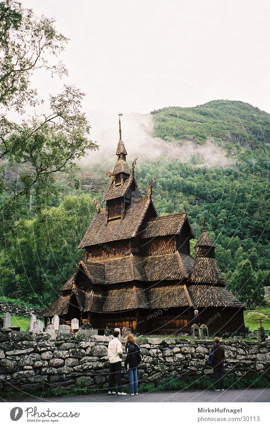 Stabkirche Religion & Glaube Freizeit & Hobby Norwegen Skandinavien Wikinger Stabkirche