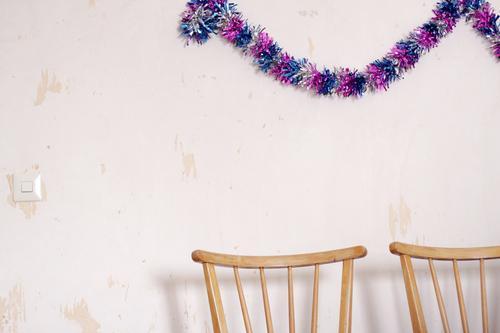 nach der party ist vor der party Freude Innenarchitektur Wand lustig Feste & Feiern Mauer außergewöhnlich Party Freundschaft Häusliches Leben Wohnung