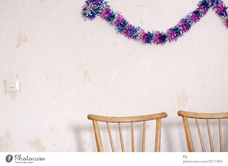 nach der party ist vor der party Häusliches Leben Wohnung Renovieren Innenarchitektur Dekoration & Verzierung Möbel Stuhl Raum Party Veranstaltung