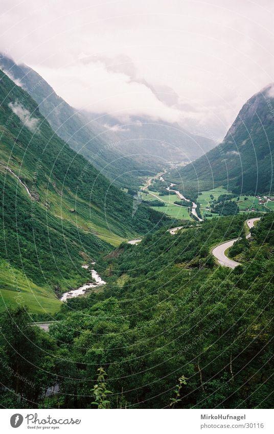 Norwegen - Tal Jostedalen Berge u. Gebirge Skandinavien