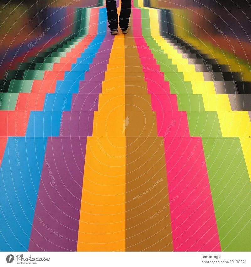 Blox Kopenhagen Lifestyle Joggen Mensch maskulin Beine 1 45-60 Jahre Erwachsene Kunst Ausstellung Museum Kunstwerk Architektur Stadt Hauptstadt Kunststoff gehen