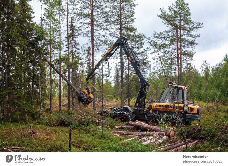 Wirtschaftswald Arbeit & Erwerbstätigkeit Beruf Arbeitsplatz Landwirtschaft Forstwirtschaft Industrie Güterverkehr & Logistik Werkzeug Maschine