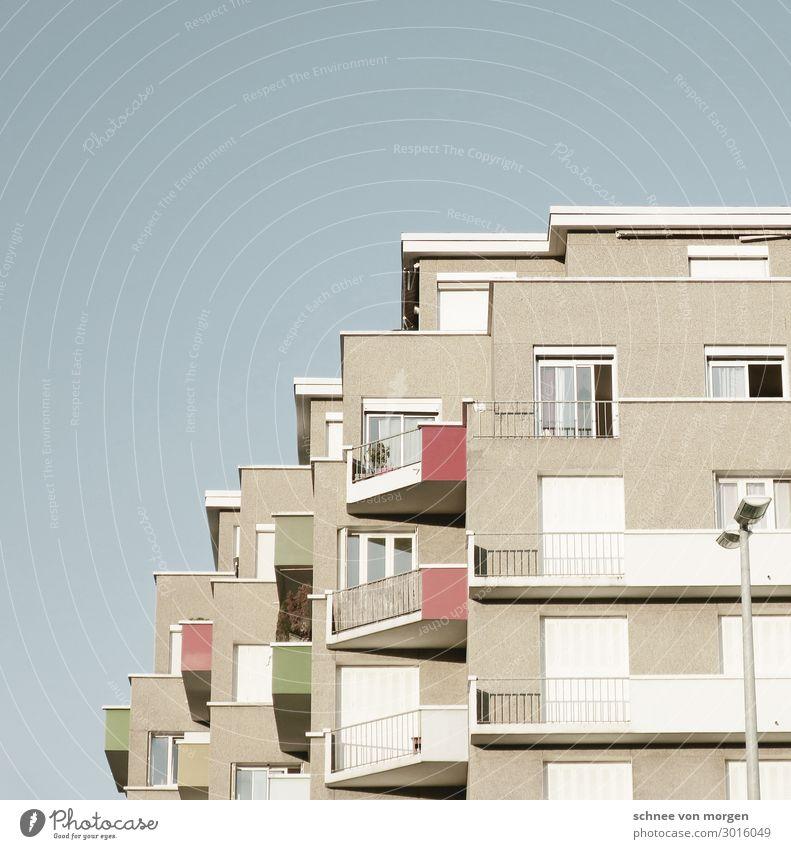 wohnen in grenoble Stadt Haus Architektur Gebäude Fassade Bauwerk Grenoble