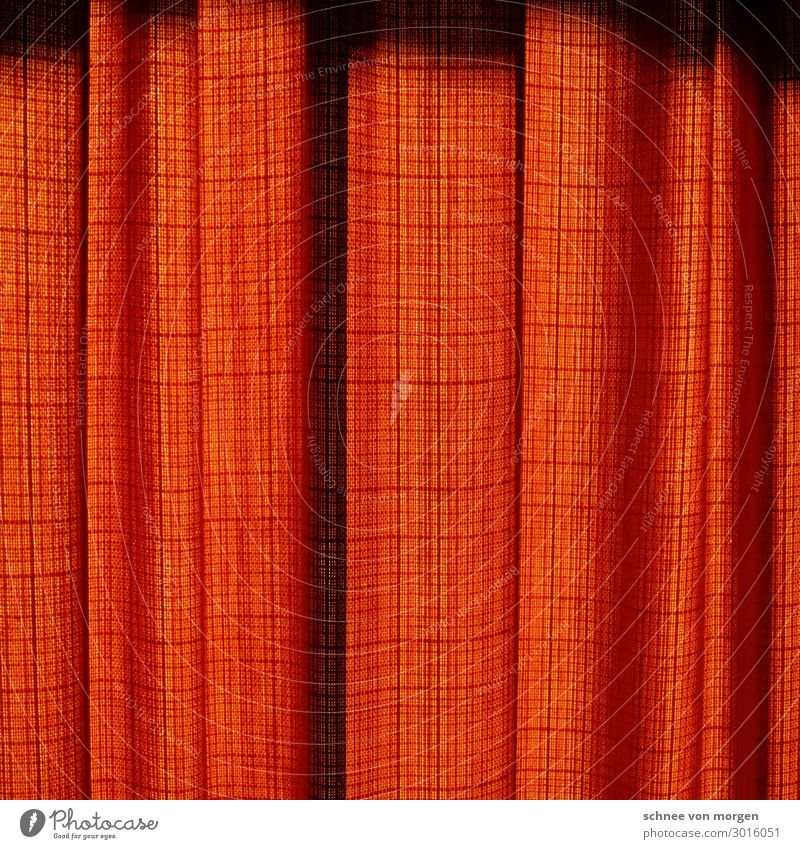"""vorhang zu Innenarchitektur Dekoration & Verzierung Raum Kunst Theater Verpackung Streifen fallen Design """"vorhang stoff rot falten kino geschlossen ende blick"""""""