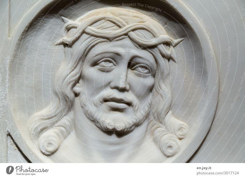 Hoffnung!? Gesicht Religion & Glaube Liebe Traurigkeit Kunst Tod Vergänglichkeit Zeichen Trauer Vertrauen Skulptur Sorge Gott Kunstwerk