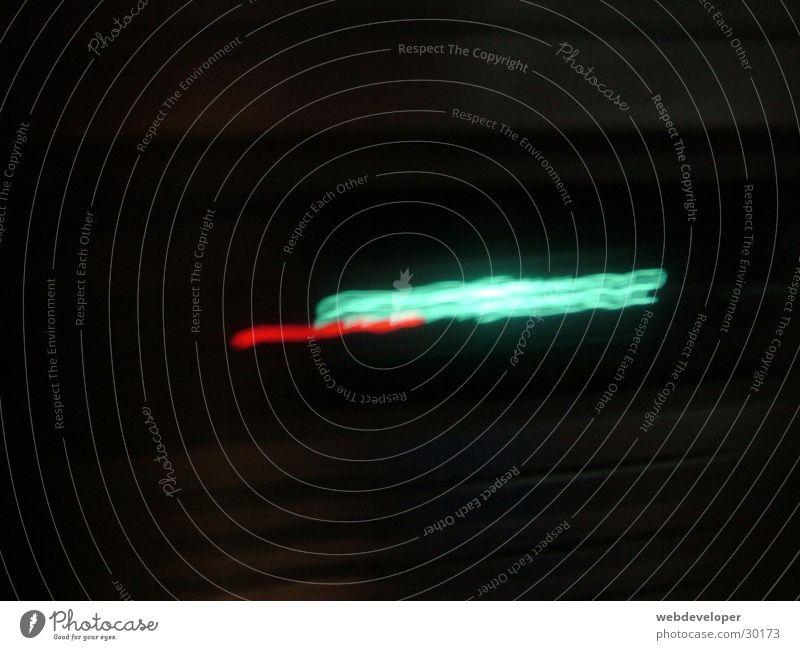 Wieviel Uhr ist es?? blau rot dunkel hell Zeit Uhr Häusliches Leben Neonlicht Digitalfotografie