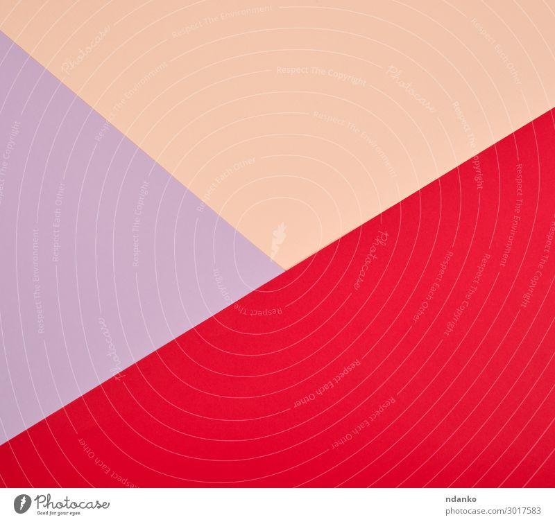 abstrakter bunter Hintergrund von Dreiecken Stil Design Dekoration & Verzierung Handwerk Kunst Papier hell trendy modern rot Farbe Kreativität Transparente