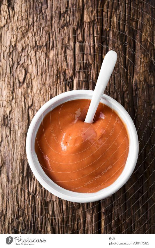 Frittierte Sauce Fastfood rot Lebensmittel Saucen braten Bratensauce Salsatänzer Ketchup Mayonnaise mischen gemischt Gewürz Dip Salsa-Golf Mayoketchup Mischung