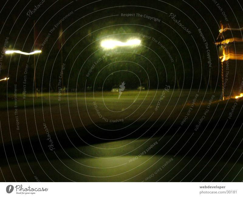 Highway 2 Hell [5] dunkel Nacht Geschwindigkeit verwaschen Lampe Laterne Langzeitbelichtung Straße Licht Bewegung Fahrzeuge