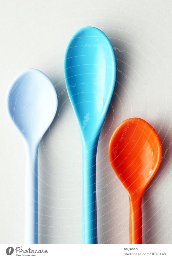 Eisöffel Joghurt Dessert Ernährung Essen Löffel Lifestyle Stil harmonisch Innenarchitektur Dekoration & Verzierung Koch liegen ästhetisch Coolness elegant