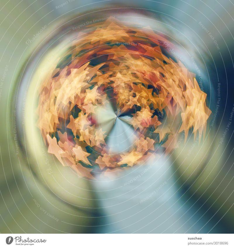 nebulös   verquirlte sterne leuchten Kreis rund Dynamik drehen unklar Drehung Verzerrung Wasserwirbel Mittelpunkt Sog konzentrisch