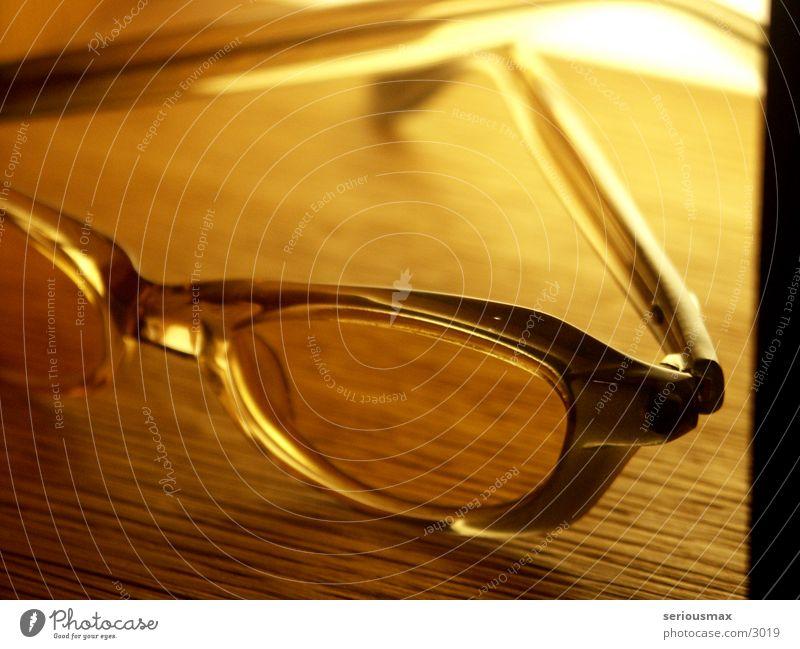 Brille Gestell Schaufenster Dinge Glas Blick Detailaufnahme