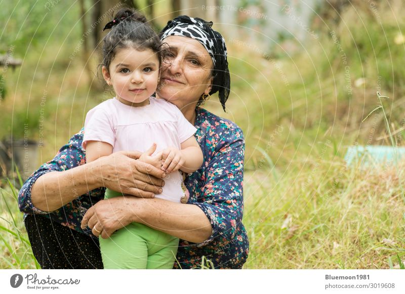 Frau Kind Mensch Ferien & Urlaub & Reisen Natur alt blau grün Landschaft Einsamkeit ruhig Freude Mädchen Gesundheit Lifestyle Erwachsene
