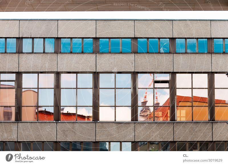fenster zur stadt Städtereise Himmel Berlin Hauptstadt Stadtzentrum Hochhaus Bauwerk Gebäude Architektur Mauer Wand Fassade Fenster Sehenswürdigkeit
