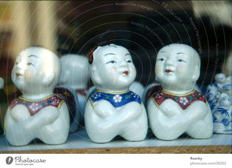 Chinesische Fenstergucker Fenster China Geschirr Fensterscheibe Schaufenster