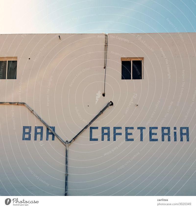 Ein Cafe, ein Tee .. Ria II Fuerteventura Kanaren Café Tourismus Pause Ausflug Gegenlicht