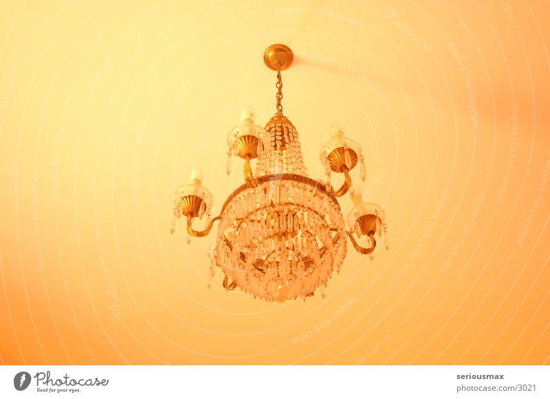 Leuchter Häusliches Leben Decke Glühbirne Kristallstrukturen Kronleuchter