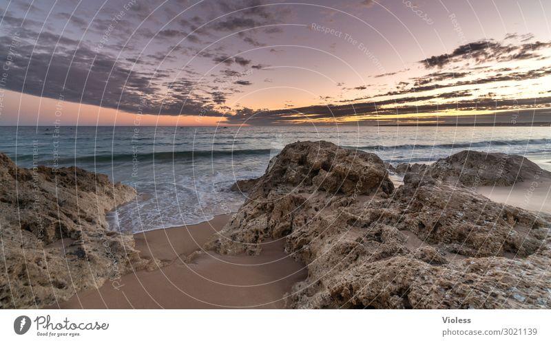 Summerfeelig Ferien & Urlaub & Reisen Tourismus Ferne Sommer Sommerurlaub Sonne Strand Meer Wellen Natur Himmel Sonnenaufgang Sonnenuntergang Sonnenlicht