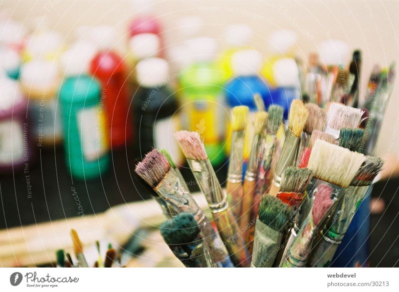 Pinsel Farbe Freizeit & Hobby Gemälde Kreativität