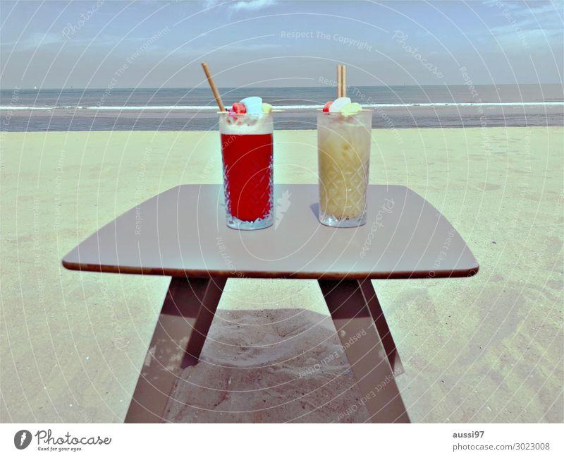 What's on the menue, Mathew? Getränk Cocktail Strand Sand Ferien & Urlaub & Reisen Karibik Karibisches Meer Alkohol Liegestuhl Erholung Nachtclub Club