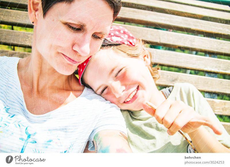 weil wir glücklich sind... Junge Frau Erwachsene Mutter Familie & Verwandtschaft Kindheit Körper Haut Kopf Haare & Frisuren Gesicht Auge Ohr Nase Mund Lippen