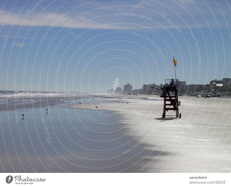daytona beach 02 Himmel Meer blau Sommer Strand Ferne Sand Küste Sicherheit USA Reisefotografie Amerika Kontrolle Schönes Wetter Fernweh Brandung