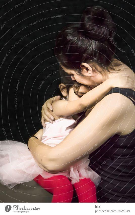 Mutterliebe Lifestyle Reichtum elegant Stil Design Freude Glück schön Körper Haare & Frisuren sportlich Muttertag feminin Kind Kleinkind Mädchen Junge Frau