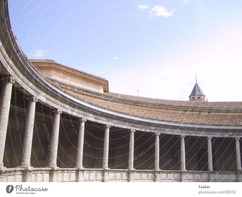Alhamrama Architektur rund Spanien Bogen Granada Alhambra