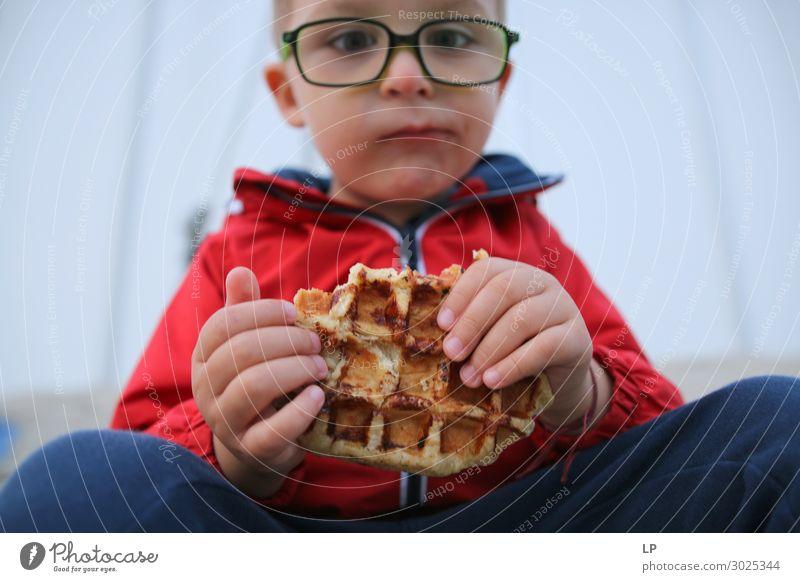 Philosophie über Waffel Lebensmittel Brötchen Kuchen Dessert Ernährung Essen Diät Lifestyle Kindererziehung Bildung Mensch Kleinkind Eltern Erwachsene