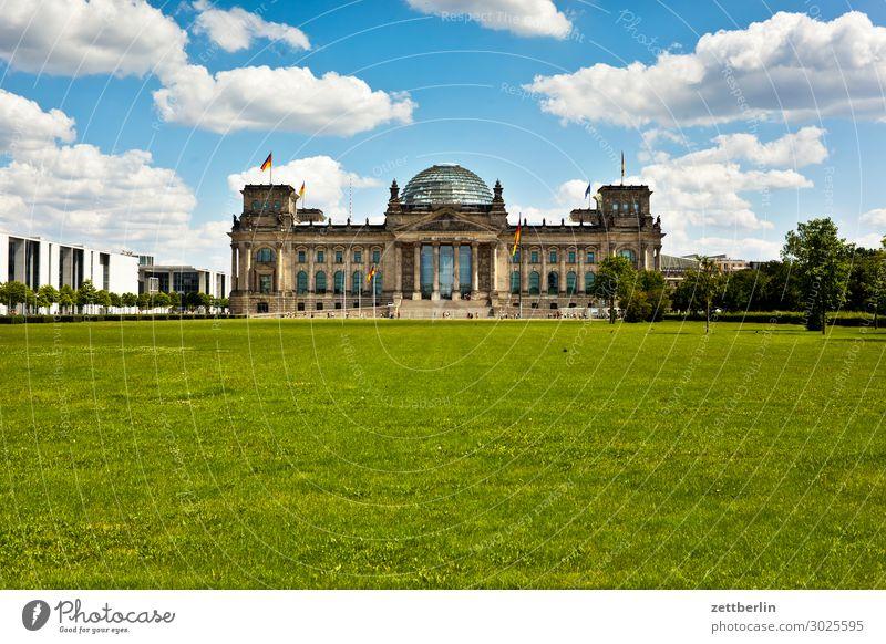 Bundestag Architektur Berlin Deutscher Bundestag Deutschland Deutsche Flagge Hauptstadt marie elisabeth lüders haus Parlament Regierung Regierungssitz