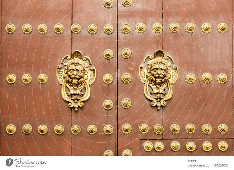 Historic door in the old town of Cordoba alt Gebäude Tür elegant historisch