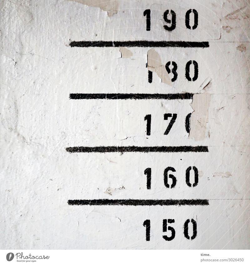 Ranking | UT Kassel Mauer Wand Putz Stein Zeichen Ziffern & Zahlen Linie Streifen historisch kaputt trashig trist Leidenschaft Ordnungsliebe Partnerschaft