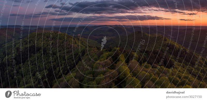 Pfälzerwald Technik & Technologie Unterhaltungselektronik Wissenschaften High-Tech Drohne Luftaufnahme Kunst Umwelt Natur Landschaft Himmel Wolken Sonnenlicht