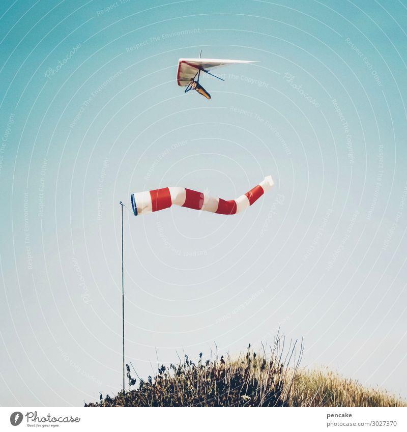 doppel | luftig Himmel Natur Sommer Landschaft Wärme Küste fliegen oben frisch Fröhlichkeit Wind Schönes Wetter entdecken sportlich Sturm Stranddüne