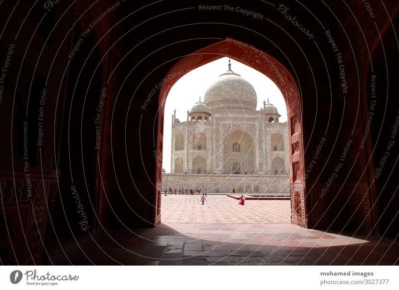Taj Mahal, Indien Ferien & Urlaub & Reisen Tourismus Ausflug Ferne Sightseeing Städtereise Expedition Innenarchitektur Dekoration & Verzierung Tapete Kunst