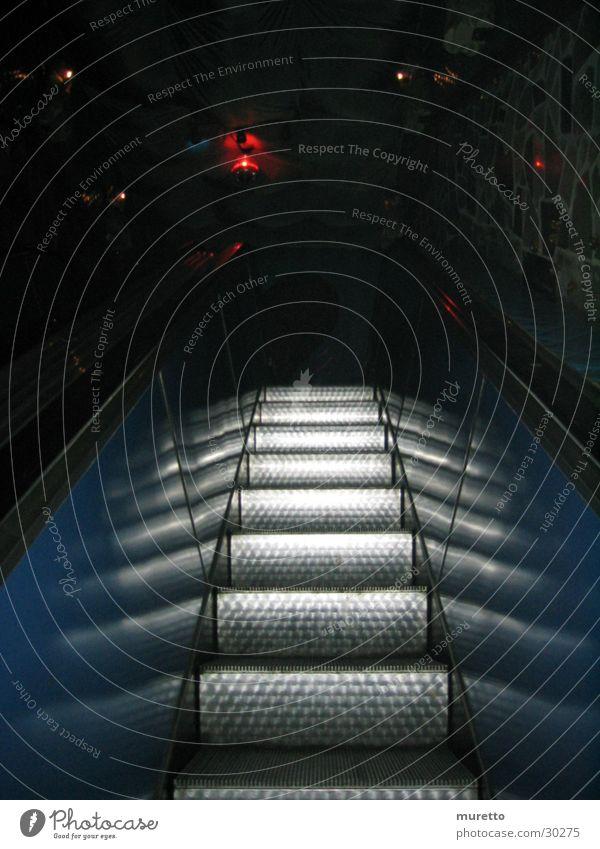 Rolltreppe 2 Haus Metall Architektur Treppe London Underground