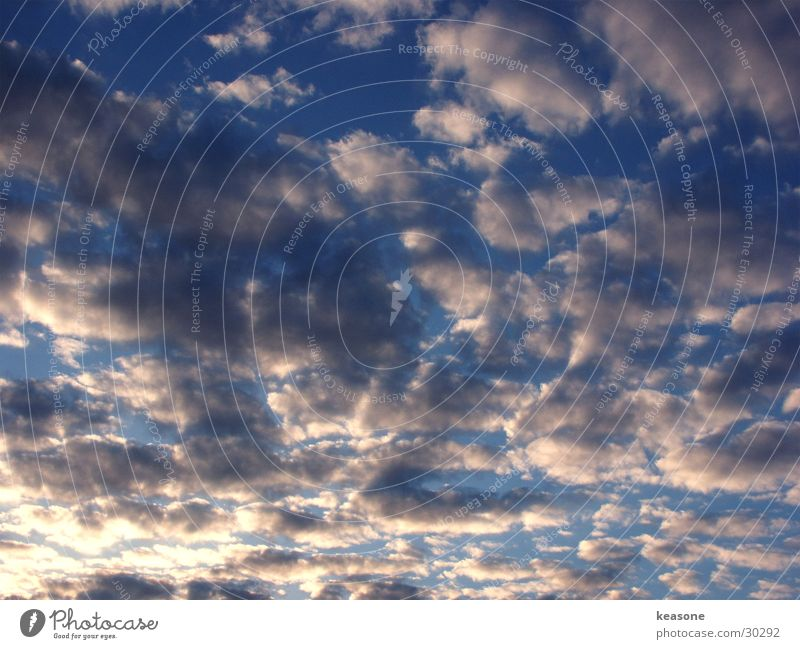 himmel1 Himmel weiß Sonne blau Wolken